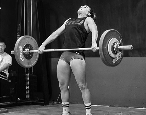 Steph weightlifting